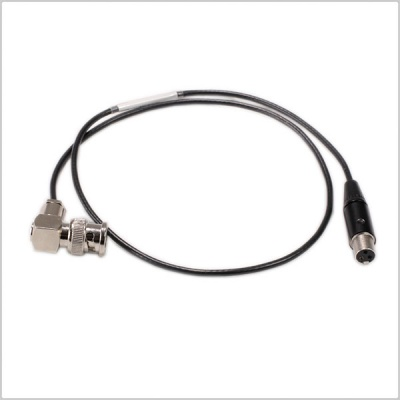 Pinknoise Custom TA3 Female to BNC (RA) 60cm Cable for Sound Devices