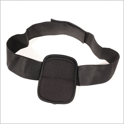 Pinknoise Waist Pouch for Radio Mic Transmitters (Black/White)