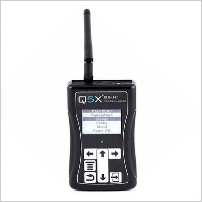 Quantum5X QG-H1 MicCommander Handheld Remote Control for RCAS Transmitters