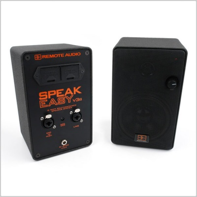 Remote Audio Speakeasy v3b Battery Powered Monitor
