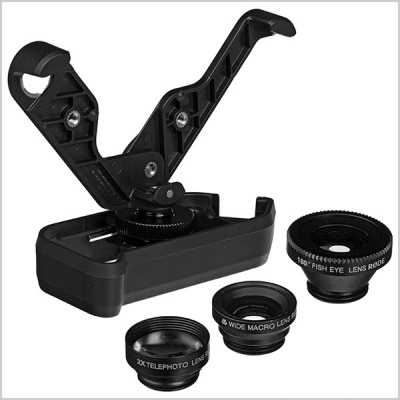 Rode Grip Plus Multi-Purpose Mount and Lens Kit for iPhone 4/4S