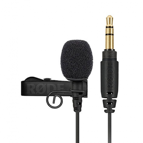 Rode Lavalier GO Professional-Grade Wearable Microphone (Black)