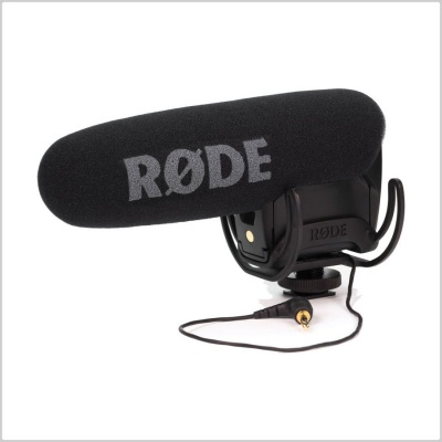 Rode Videomic Pro-R DSLR Microphone w/ Rycote Lyre Suspension