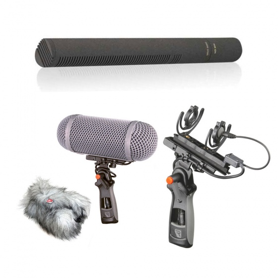 Sennheiser MKH 8060 + Windshield Kit 1 MZL Bundle