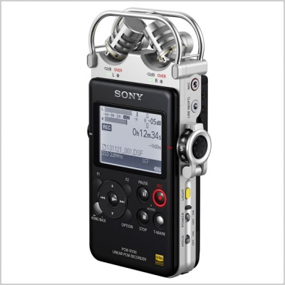 Sony PCM D100 Portable High Resolution Audio Recorder