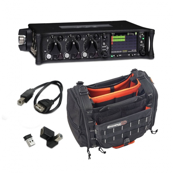 Sound Devices 633 w/ K-Tek KSTGS Small Stingray Bag & FREE WM-Connect Bundle