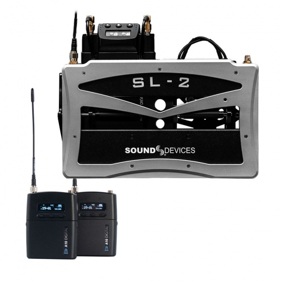 Sound Devices SL-2 Dual Superslot Module w/ 1x Audio Ltd Wireless Kit