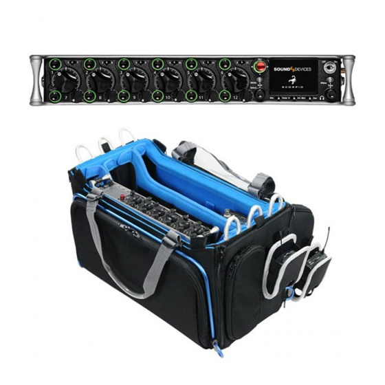 Sound Devices Scorpio 36-Track Audio Mixer/Recorder w/ Orca OR-334 Mixer Bag Bundle