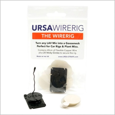 URSA WireRig Gooseneck Mount for Lavalier Microphones