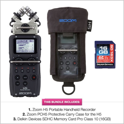 Pinknoise Bundle: Zoom H5 Handheld Recorder MEGA Bundle