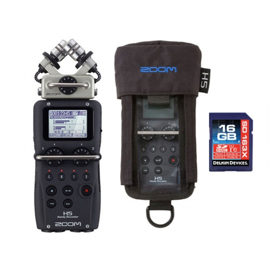 Zoom H5 Handheld Recorder MEGA Bundle
