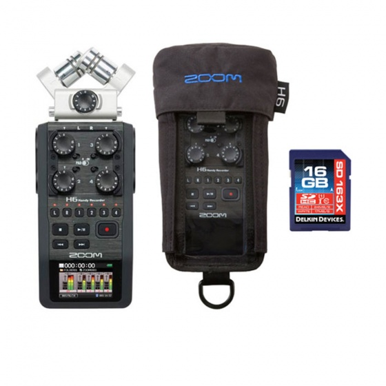 Zoom H6 Handheld Recorder MEGA Bundle