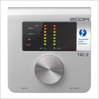Zoom TAC-2 2-Channel Thunderbolt Audio Converter