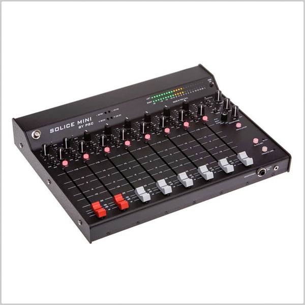psc solice mini mix linear fader mixer pinknoise pro sound equipment. Black Bedroom Furniture Sets. Home Design Ideas