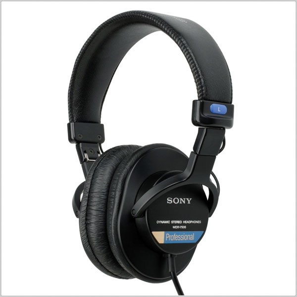 Sony MDR-7506 Professional Large Diaphragm Headphones | Pinknoise Pro Sound  Equipment
