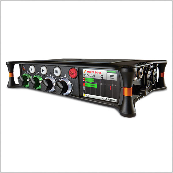 Sound Devices Mix Pre-6 Audio Recorder / Mixer / USB Audio Interface