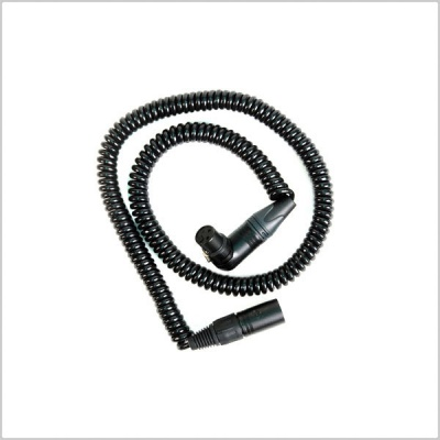 Remote Audio CAXJCOIL Balanced Coiled Cable