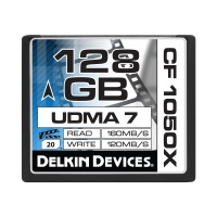 Delkin 1050X UDMA-7 Compact Flash Memory Card (32GB)