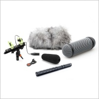 DPA d:dicate™ 4017B-R Shotgun Microphone With Rycote Windshield