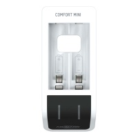 Ansmann Comfort Mini Fast Charger w/ USB input for AA Batteries