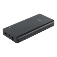 Ansmann Powerbank 20,800mAh Type A USB Compact Rechargeable Battery Pack