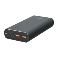Ansmann Powerbank 20Ah Type-C 18W PD Slim USB-A / USB-C Powerbank
