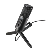 Audio Technica ATR2500X-USB Streaming / Podcasting / Recording Large Diaphragm Microphone