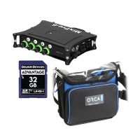 Sound Devices MixPre-6 II + Orca OR-270 Sound Bag w/ SD Card
