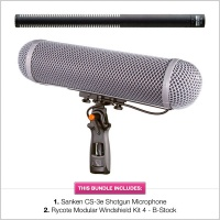 Sanken CS-3e with B-Stock Rycote WS4 Modular Kit