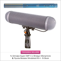 Schoeps CMIT 5U with B-Stock Rycote WS4 Modular Kit