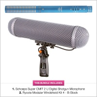 Schoeps Super CMIT 2U with B-Stock Rycote WS4 Modular Kit