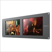 BlackMagic SmartView Duo Rackmountable Dual 8'' LCD Monitors