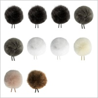 BubbleBee Windbubble All-Stars 10 Pack of Mini Windshields for Lavalier Microphones
