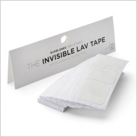 Bubblebee Industries Invisible Lav Tape (120 pack)