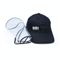 Bubblebee Visor Hat/Cap w/ Detachable Sanitary Screen