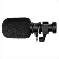 Comica CVM-VS08 On-Camera Cardioid Shotgun Microphone