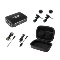 Comica CVM-D03 Dual Head Detachable & Multi-Functional Lavalier Mic