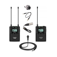 Comica Wireless Radio Kit w/ Sennheiser ME2-II Lavalier Microphone
