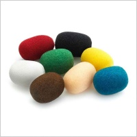 DPA DUA0570 Multi Colour Foam Windscreens (Pack of 8)