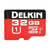 Delkin Devices 500X Micro SDHC Memory Card (32GB)