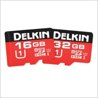 Delkin Devices 500X Micro SDHC Memory Card (16GB/32GB)