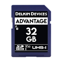 Delkin Devices Advance SDHC 633X UHS-I Memory Card (32GB)
