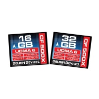 Delkin 500X UDMA-6 Compact Flash Memory Card (16GB/32GB)