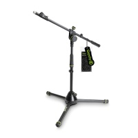Gravity MS 4222B  Short Microphone Stand w/ Adjustment Telescopic Boom