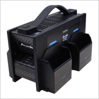 Hawkwoods NP-ATM4 ATOM 4-Channel Fast Charger for NP1 Batteries