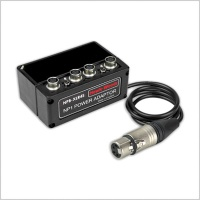 Hawkwoods NPB-XLR4S NP1 Power Adaptor w/ 4-Pin XLR & 4 x Switched Hirose Outputs