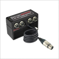 Hawkwoods NPU-XLR4S NP1 Power Adaptor w/ 4 x Hirose Sockets & 1 x XLR 4-Pin Cable