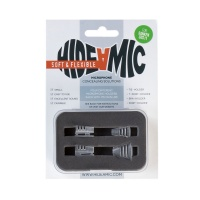 Hide-A-Mic COS11 Lavalier Microphone Holder w/ Flexible Clips (Complete Set of 4)