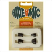 Hide-A-Mic DPA 6060/MKE1 Lavalier Microphone Holders (Complete Set of 4)
