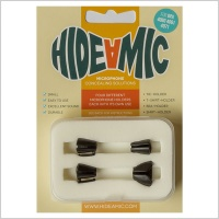 Hide-A-Mic DPA 40 Series Lavalier Microphone Holders (Complete Set of 4)